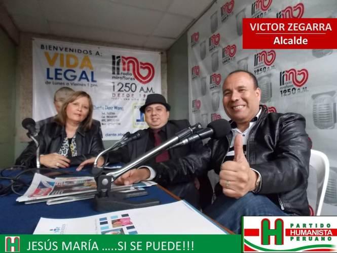 Entrevista Radio Miraflores
